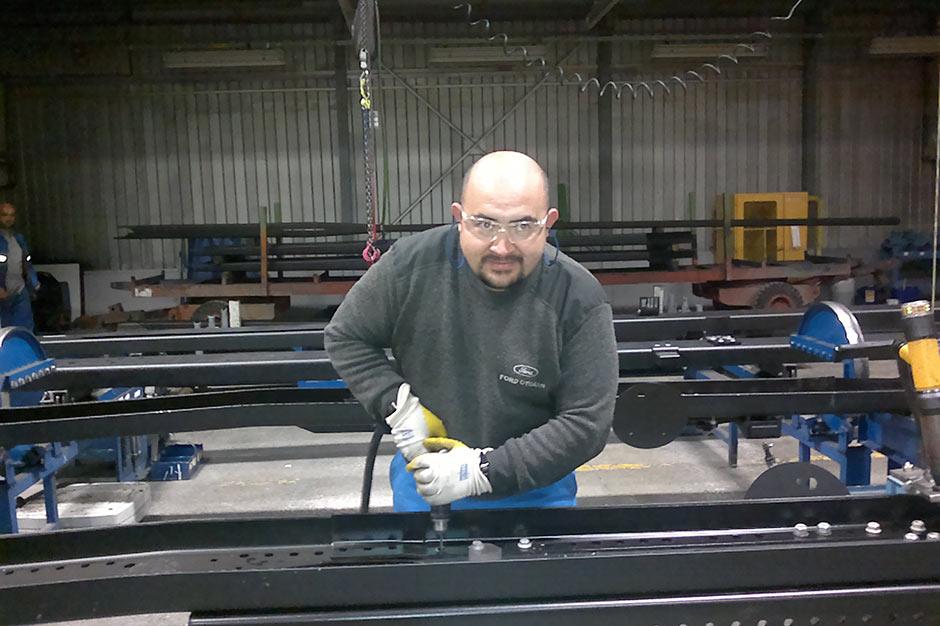 erdal boru 3 - Ford Kamyon Fabrikası'ndaki güvenliksiz çalışma koşulları meslek hastalıklarına mı yol açıyor?