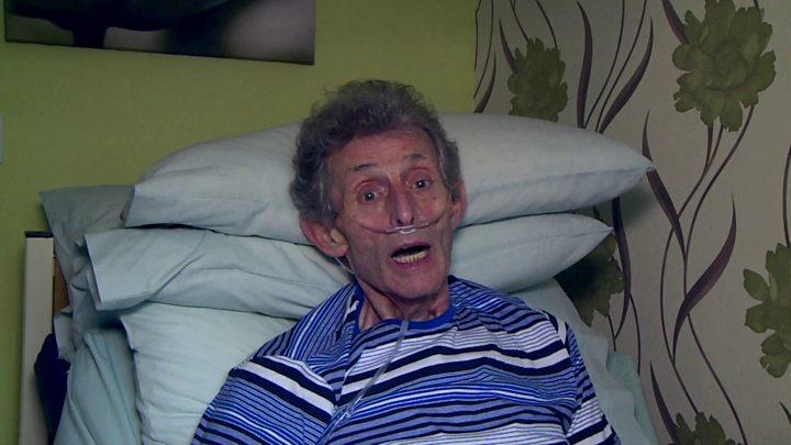 """eddie jowett - Asbestoz hastası demiryolu işçisi: """"Eskiden her şeyi yapabiliyordum şimdi yatalağım"""""""