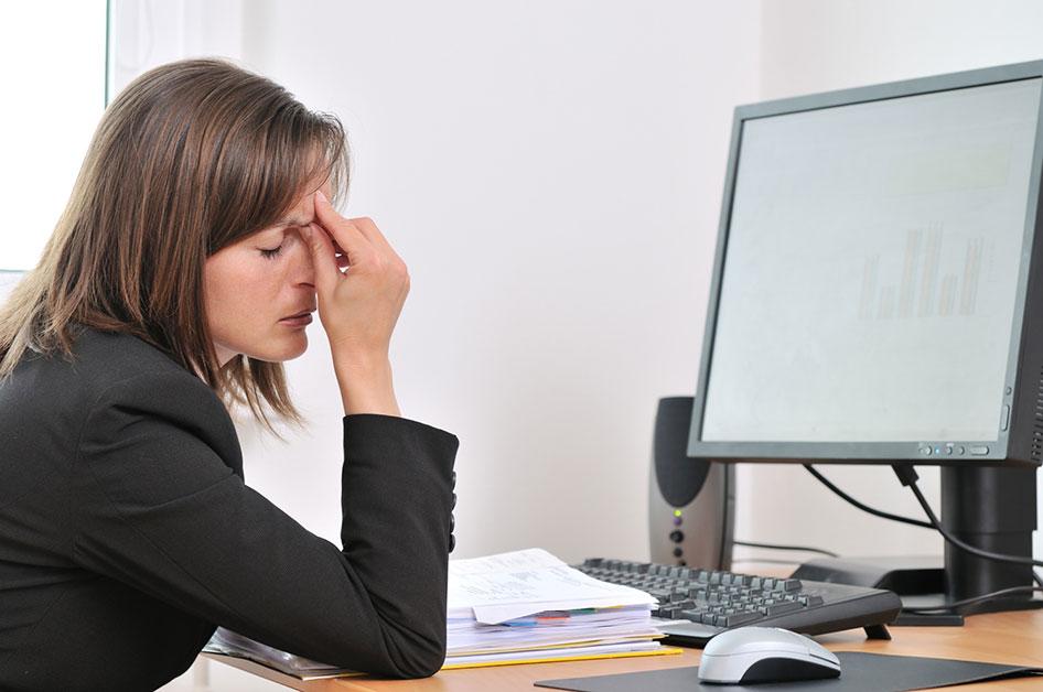cvs MS - Ofis çalışanlarının meslek hastalığı: Bilgisayara bakma sendromu