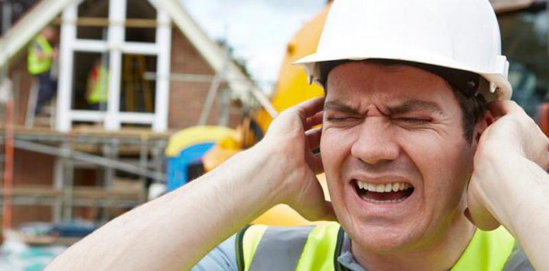 insaat gurultu - Yüksek sesmeslek hastalığına sebep olur