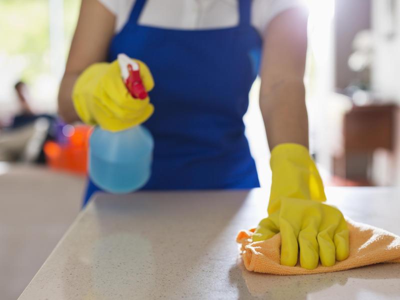 cleaner - Temizlik işçilerinin KOAH'a yakalanma riski var!
